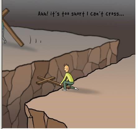当你想放弃时,看看此图!