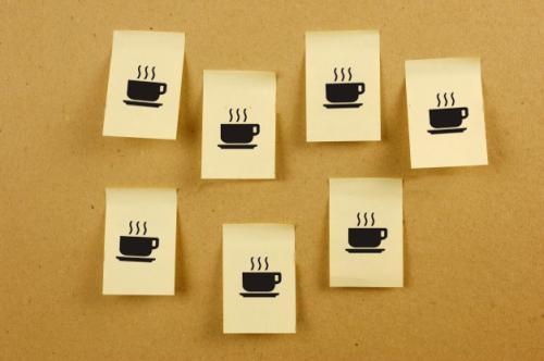墙上的咖啡【只因世间有爱!】